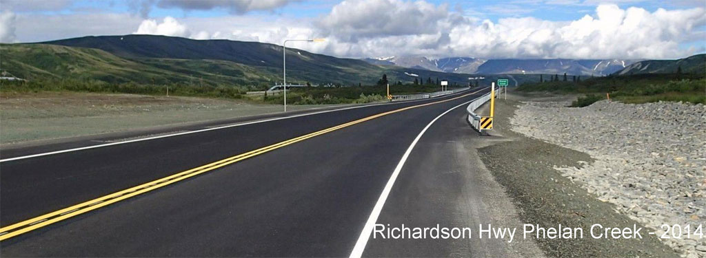 Richardson Highway Phelan Creek – 2014